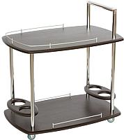 Сервировочный столик Калифорния мебель Банкет (венге) -