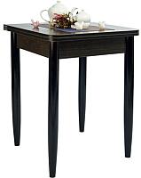Обеденный стол Рамзес Ломберный ЛДСП 60x60 (венге/ноги конусные венге) -
