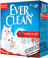 Наполнитель для туалета Ever Clean Multiple (10л) -