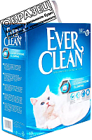 Наполнитель для туалета Ever Clean Unscented (6л) -