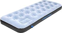 Надувной матрас High Peak Air bed Single Comfort Plus / 40023 (серо-голубой/черный) -