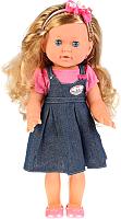 Кукла с аксессуарами Карапуз В джинсовом сарафане / POLI-24-A-RU -