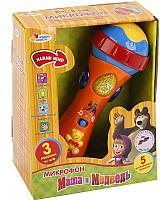Музыкальная игрушка Играем вместе Микрофон. Маша и медведь / 838-31 -