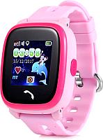 Умные часы детские Wonlex GW400S (розовый) -