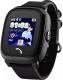 Умные часы детские Wonlex GW400S (черный) -