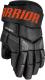 Перчатки хоккейные Warrior QRE4 / Q4G-BKO15 (черный/оранжевый) -