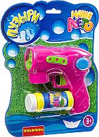 Набор мыльных пузырей Bondibon Наше Лето. Пистолет для мыльных пузырей / ВВ2783 -