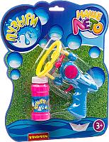 Набор мыльных пузырей Bondibon Наше Лето. Пистолет для мыльных пузырей / ВВ2784 -