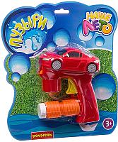 Набор мыльных пузырей Bondibon Наше Лето. Пистолет для мыльных пузырей / ВВ2788 -
