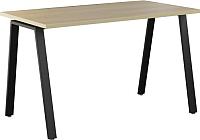 Обеденный стол Nowy Styl Baden Black H25 100x68 (дуб нагано) -