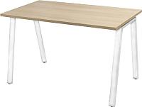Обеденный стол Nowy Styl Baden White H25 100x68 (дуб нагано) -