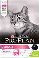 Корм для кошек Pro Plan Delicate с ягненком (1.5кг) -