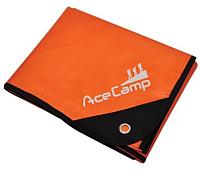Покрывало AceCamp 3802 (оранжевый/серебристый) -