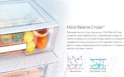 Холодильник с морозильником LG GA-B509SMHZ
