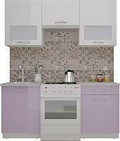 Готовая кухня ВерсоМебель ЭкоЛайт-6 1.7 (белый/вереск) -