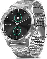 Умные часы Garmin Vivomove Luxe / 010-02241-23 (серебристый) -