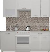 Готовая кухня ВерсоМебель ЭкоЛайт-6 2.0 (белый/белый) -