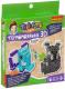 Набор для творчества Bondibon Термомозаика 3D. Коала и слон / ВВ3287 -