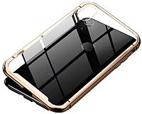 Чехол-накладка Baseus Magnetite для iPhone XR (золото) -