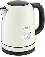 Электрочайник Kitfort KT-683-3 (бежевый) -