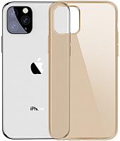 Чехол-накладка Baseus Simplicity для iPhone 11 Pro (золото) -