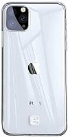 Чехол-накладка Baseus Transparent Key для iPhone 11 Pro (прозрачный) -
