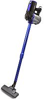 Вертикальный портативный пылесос Ginzzu VS117 (черный/синий) -