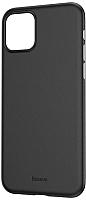 Чехол-накладка Baseus Wing для iPhone 11 Pro Max (черный сплошной) -