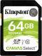 Карта памяти Kingston Canvas Select SDS/64GB SDXC 64GB -