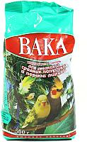 Корм для птиц ВАКА Для средних и мелких попугаев в период линьки (0.5кг) -