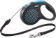 Поводок-рулетка Flexi Design 5m (M, синий, тросовый) -