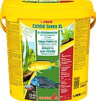 Корм для рыб Sera Cichlids Green XL / 218 (10л) -