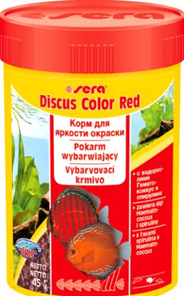 Купить Корм для рыб Sera, Discus Color Red / 332 (100мл), Германия