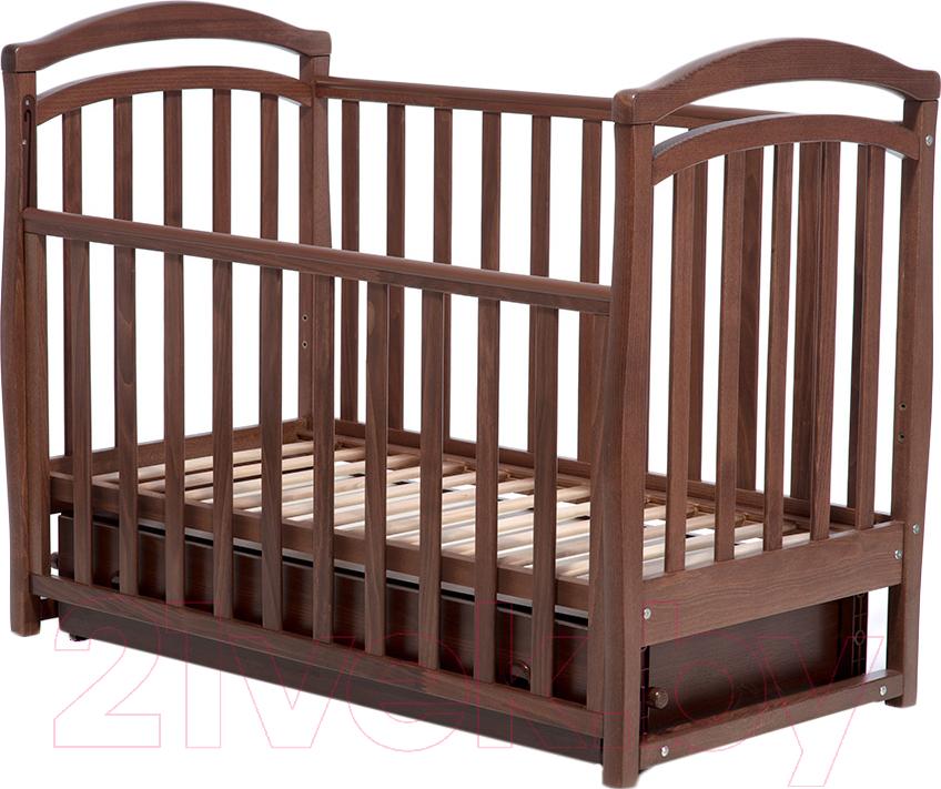 Купить Детская кроватка Верес, Соня ЛД6 (орех), Украина, массив дерева
