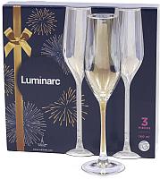 Набор бокалов Luminarc Celeste Золотистый хамелеон P2475 (3шт) -