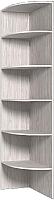 Угловое окончание для шкафа Глазов Home 4 (бодега светлый) -