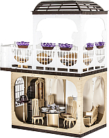 Кукольный домик Огонек Коллекция / С-1293 (без мебели) -