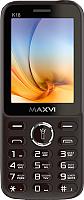 Мобильный телефон Maxvi K18 (коричневый) -