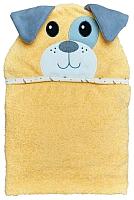Полотенце с капюшоном Alis Цветная коллекция. Собачка (75x110, махра) -