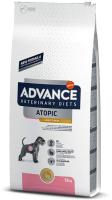 Корм для собак Advance VetDiet Atopic Care с кроликом (12кг) -