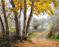 Картина по номерам Picasso Тропинка в осеннем лесу (PC4050596) -