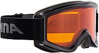Маска горнолыжная Alpina Sports Smash 2.0 DH / A7075133 (черный) -