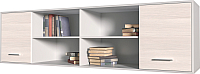 Шкаф навесной Интерлиния Innova H07 (вудлайн/белый) -
