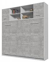 Комплект мебели для спальни Интерлиния Innova H140 (бетон/белый) -