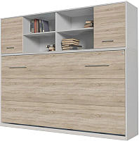 Комплект мебели для спальни Интерлиния Innova H90 (дуб сонома/белый) -
