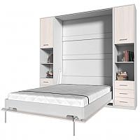 Комплект мебели для спальни Интерлиния Innova V140-1 (вудлайн/белый) -