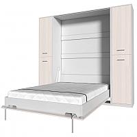 Комплект мебели для спальни Интерлиния Innova V140-2 (вудлайн/белый) -