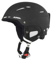 Шлем горнолыжный Alpina Sports 2019-20 Biom / A9059-30 (р-р 54-58, черный) -