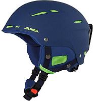 Шлем горнолыжный Alpina Sports 2019-20 Biom / A9059-80 (р-р 54-58, темно-синий) -