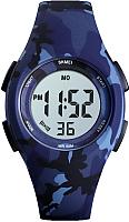 Часы наручные детские Skmei 1459-4 (синий камуфляж) -